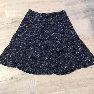 Chico's Travelers blue maxi skirt Size Large